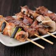 大ぶり・厚みのあるネタでしっかり肉の味が味わえる! 食べごたえ大満足の一品です。