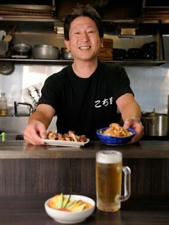 和食を主に25年の経験をもつオーナー:北岡さん