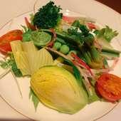 お料理コース一番人気!旬な味わいをリーズナブルに… 色々なシーンの会食に!