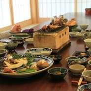 家族や友人、大切な方との旅の思い出の1ページに飛騨高山の季節料理を刻んではいかがですか?