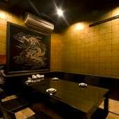 個室。接待・会食にどうぞ