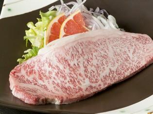 地元長崎の美味しさが凝縮した『長崎牛サーロインステーキ』
