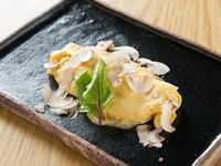 マスカルポーネチーズのレアオムレツ