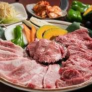 中でも地元ブランド『栃木和牛』の上質なお肉は絶品、その格別の旨味をぜひご堪能あれ。