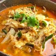 焼肉の〆にはクッパや冷麺、そしておすすめの『テグタンラーメン』はいかが。