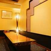 地物しか使わない、こだわりの魚介類はどれも新鮮!