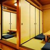人数に応じて部屋の大きさを変えられます