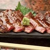 「知多牛」の美味しさを堪能! 『和牛サーロインステーキ』