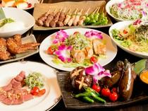 四季折々の食材を使った料理で心も大満足