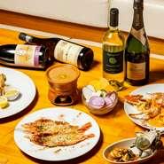 ご家族でいろいろな料理を少しずつ楽しめる満腹満足コースをご用意しております。  お客様のご要望を取り入れながらお作り致します。