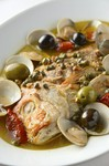 一本魚料理(アクアパッツァor岩塩包み焼きorクリーム煮込)