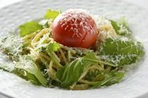 野菜たっぷり畑のペペロンチーノ