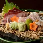 富山湾のおいしいところを独り占め『盛り合せ一人前』