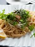 開店以来の変わらぬ人気『明太子スパゲッティ』