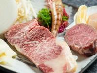 鉄板焼といえばやはりステーキ!関谷牧場より直接仕入れる「ステーキ肉」はまさに絶品!