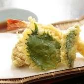注文を受けてから揚げる天ぷら