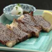 赤字覚悟の1日5本限定『島根和牛の串焼き』