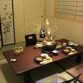 和の空間!個室・大小座敷ございます!