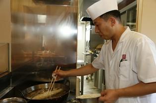 経験豊富な熟練された技の『天ぷら』