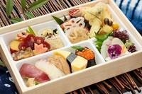 にぎり寿司8貫と季節の創作料理 夏の食欲のない日はにぎり寿司がおすすめ♪
