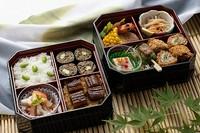 刺身/連島れんこんと海老の天麩羅/煮物/にぎり寿司