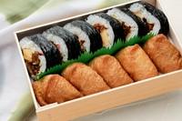 こだわり巻き寿司といなり寿司のセットです。