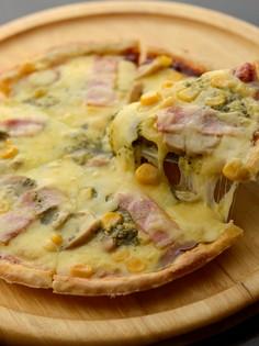 多種多彩な味わいで楽しませる『手づくりピザ』