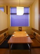 個室でゆっくり食事をお楽しみください
