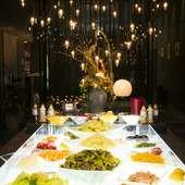 新鮮野菜とデザートが食べ放題のサラダ・デザートバー