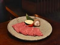松阪牛ランプの一枚焼き ひとり1枚! ライス食べ放題 三重県産コシヒカリを使用!