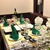 オシャレなおもてなしディナーが予約で割安、特典付き!!