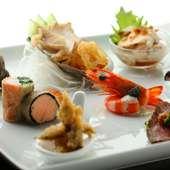 見て楽しみ、食べて満足できる自慢の『前菜』