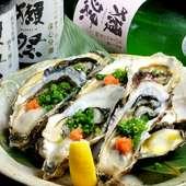 年中食べれる生牡蠣