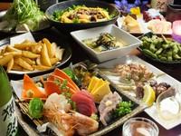 和牛と刺身付メイン料理が選べるちょっと贅沢なコースです! 飲み放題なしの場合は3000円。