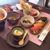 前菜からデザートまで楽しめる宴会で人気の『5000円コース』