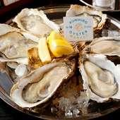 2h飲み放題付!当店看板メニューのローストビーフをはじめ、生牡蠣・ロブスターのグリルなど贅沢なコース。