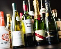 各種シャンパン・ワインを取り揃えております