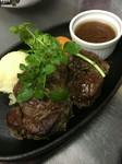 【イートイン税込2893円/テイクアウト税込2840円】  Beef steak (Fillet) 130g