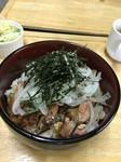【イートイン税込1705円/テイクアウト税込1674円】  Rice bowl with beef steak (Sirloin)