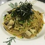 【イートイン税込1320円/テイクアウト税込1296円】  Japanese style mushrooms spaghetti