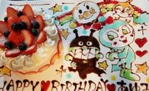記念日を彩るホールケーキ