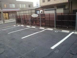 専用駐車場も完備!