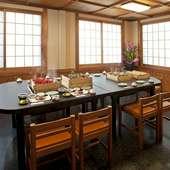 テーブル席(個室)16席