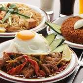ライス系には、ネパールのお米「バスマティライス」を使用
