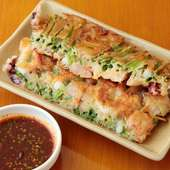 韓国料理に京都の食材をプラスしてお店の味にしています