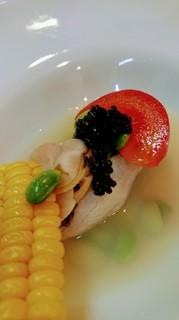 シェフのおまかせコース7000円コース料理一例