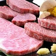 サーロイン、ヒレなど、味わい深い厳選の鳳来牛をたっぷりとお値打ち価格で堪能できるセットです。やわらかくジューシーな自慢の味をぜひ一度、お召し上がりください。