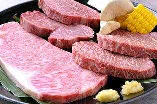 鳳来牛の美味しさを満喫できる『スペシャルセット』