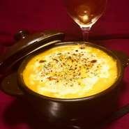 かぼちゃの甘みとチーズの塩味が絶妙のヘルシーなグラタンです。
