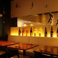 居酒屋でもなかなかお目にかかれない希少な地酒などにも出会える【あんぷく】。「焼酎」や「日本酒」が特に充実していますが、加えて、女性客からは「梅酒」や「ハイボール」も好評です。